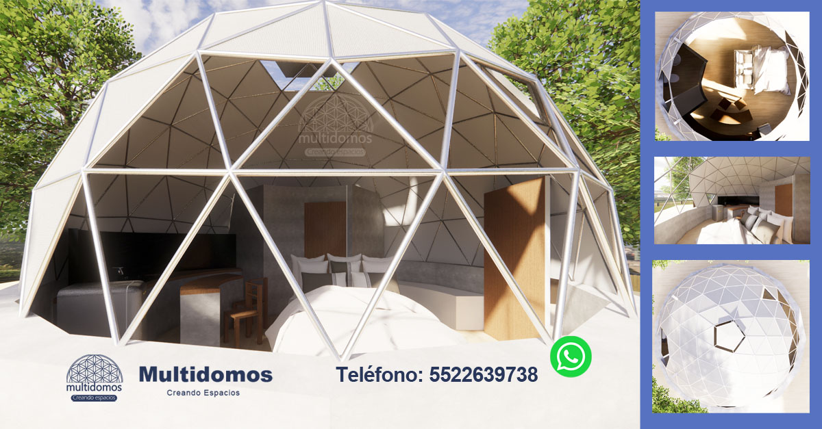 Domo Glamping Selvatic Multidomos Mexico
