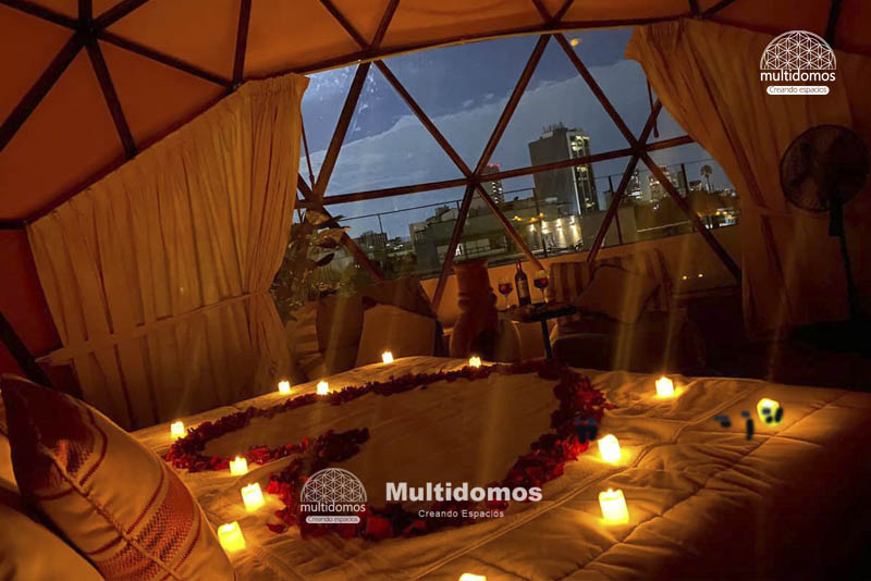 Domo Glamping Roof top amazing view 1