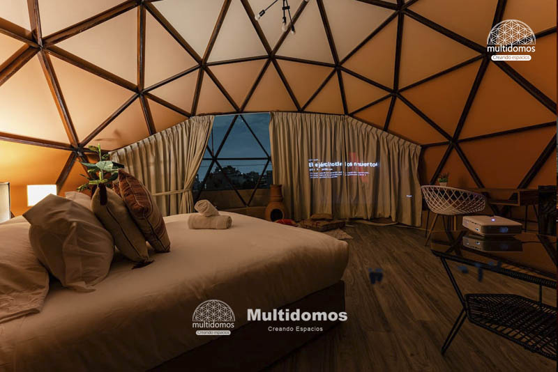 Domo Glamping Roof top amazing view 4