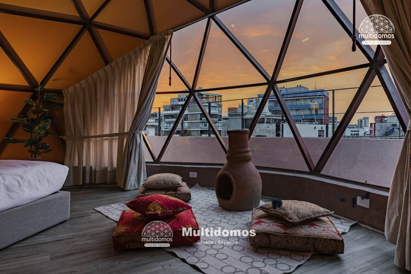 Domo Glamping Roof top amazing view 6
