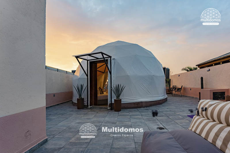 Domo Glamping Roof top amazing view 7