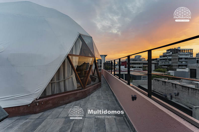 Domo Glamping Roof top amazing view 8
